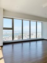 30階L字型FIX窓からの景色は