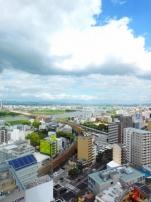 淀川を見ながら…