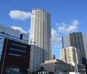 福島1丁目の扇型のタワー